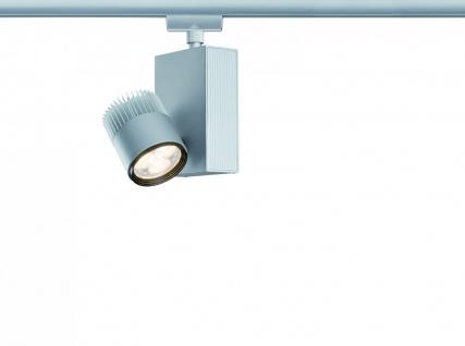 Paulmann 950.87 URail Schienensystem Light&Easy Spot TecLed 1x9W Chrom matt 230V Metall
