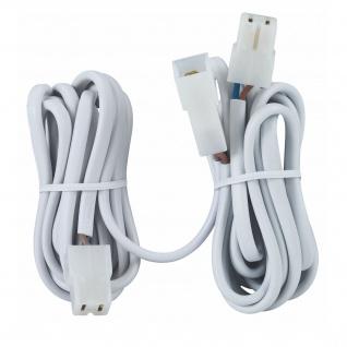 Paulmann 979.82 Kabelverlängerung 2x2m 0, 75qm 2x50W Weiß 12V