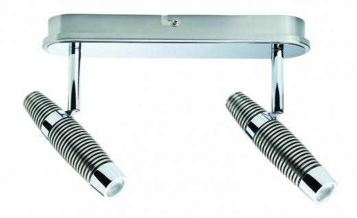Paulmann Spotlight Channel LED Balken 2x10W Nickel gebürstet/Chrom 230V Metall - Vorschau 4