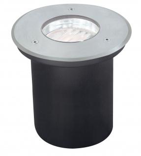 Paulmann 988.43 Spec Einbauleuchte Set Boden überfahrb Energiesparlampe IP67 7W 230V GX53 Disc 140mm Edelstahl/Metall