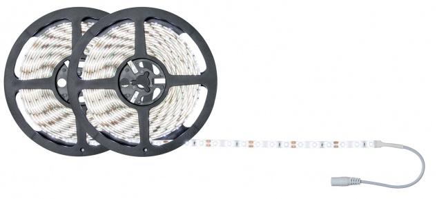 Paulmann FN SimpLED Strip Set 10m Tageslichtweiß 22W 230/12V DC Weiß Metall Kunststoff