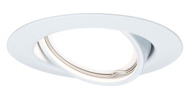 TIP NicePrice Einbauleuchte Set LED schwenkbar 3x3W 230V GU10 51mm Weiß