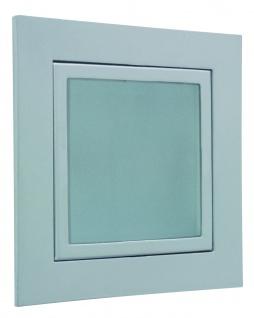 Paulmann 753.20 Special Einbauleuchte Set Wand Window 1 20W 60VA 230/12V GU5, 3 82mm Alu matt/Metall/Glas