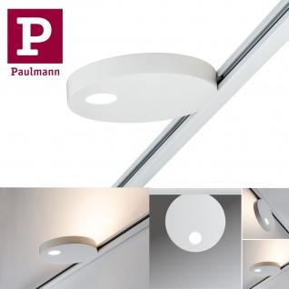 Paulmann 953.22 URail Spot Uplight Salto 16W Weiß 230V Metall