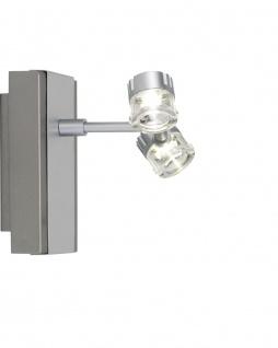 Paulmann Spotlights GEO Balken Doppelkopf max. 2x3W Chrom matt - Vorschau 5