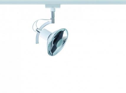Paulmann 976.91 URail Schienensystem Light&Easy Spot Roncalli 1x50W GU10 Weiß 230V Metall - Vorschau 3