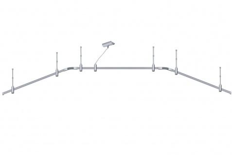 973.22 Paulmann Phantom Set RS Light&Easy Phantom Basissystem 3m max.1000W Titan 230V Metall/Kunststoff