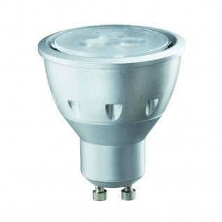 10 x 28154.10 Paulmann GU10 Fassung LED Quality Reflektor 4W 230V Warmweiß 800cd/25°