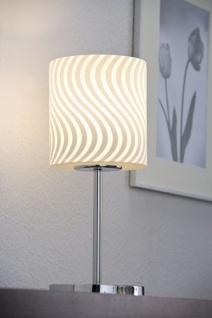 Paulmann 998.58 Living Carvu Tischleuchte 1x25W Energiesparlampe E27 Chrom/Opal/Satin 230V Metall/Glas - Vorschau 3