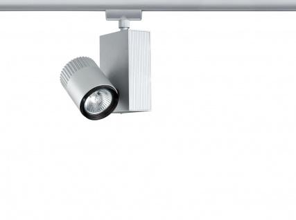 Paulmann URail Schienensystem Light&Easy Spot Tecno 1x50W GU5, 3 Chrom matt 230V/12V Metall