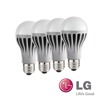 4 Stück LG LED Leuchtmittel 6, 4W Warm Weiss E27 230V warmweiss B0627A4N7A