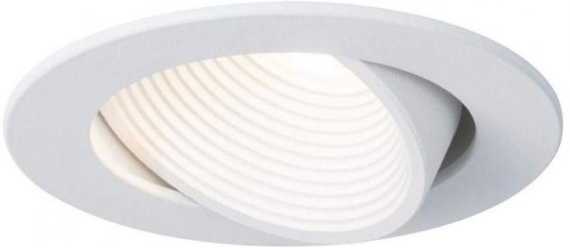 Helia rund 927.42 Premium EBL schwb LED 2700K 8, 7W 700mA 92mm ws matt Alu Acr