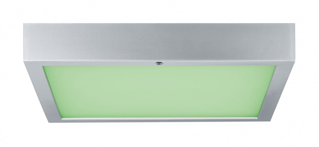 Paulmann WallCeiling Space LED-Panel RGBW 300x300mm 15, 5W 230V Chrom matt Weiß Kunststoff - Vorschau 2