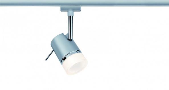 Paulmann 952.27 URail Schienensystem LED Spot Pipe 1x3, 5W GU10 Chrom matt/Chrom 230V Metall