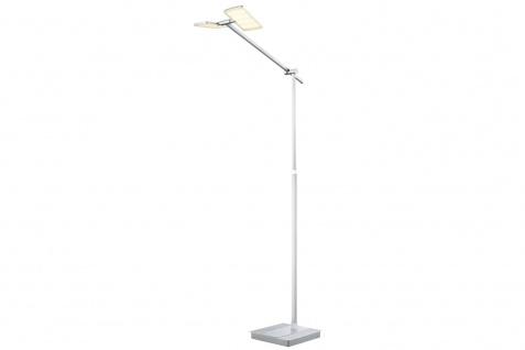 Paulmann Living Pad Stehleuchte Dimmer 2x5W LED Alu gebürstet/Chrom 230V