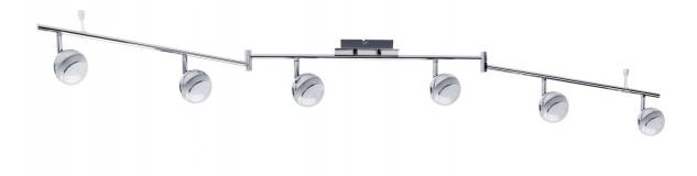 Paulmann Spotlight Scoop LED 6x4, 6W Chrom 230V Kunststoff - Vorschau 2