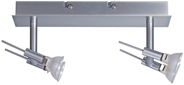 Paulmann Spotlights Ginger Balken 2x(2x20W) GU4 Chrom matt 230/12V 105VA Metall - Vorschau 2