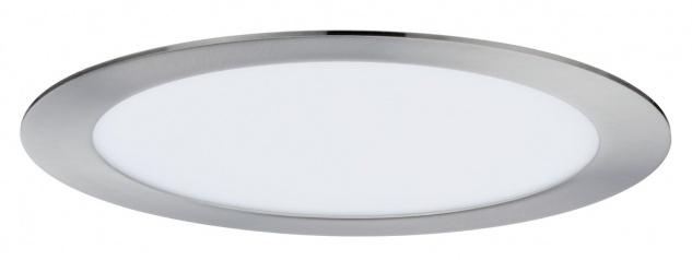 Paulmann Premium Einbauleuchte Set SmartPanel RGBW rund LED 1x3, 5W 12VA 230V/350mA 220mm Eisen gebürstet - Vorschau 3