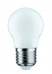 Paulmann 283.33 LED Tropfen 2, 5W E27 230V Opal 2700K