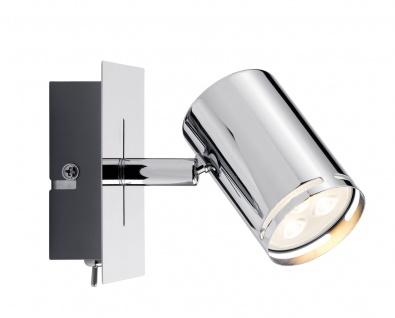 Paulmann 601.82 Spotlight Rondo LED Balken 1x3, 5W GU10 Chrom 230V Metall