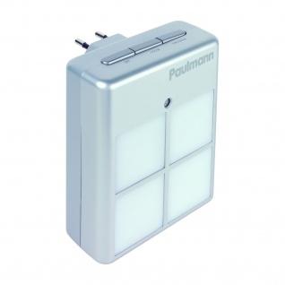 Paulmann 3434 Living Nightlight LED Steckerleuchte max.3W Silber 230V Kunststoff
