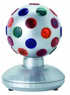 TIP 3409 Disco Mini Light Ball 15W E14 Silber