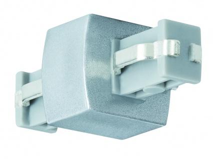 Paulmann 950.52 ULine System L+E Linien Verbinder Chrom matt Kunststoff