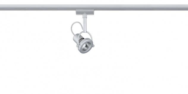 951.72 Paulmann U-Rail Einzelteile URail System Light&Easy Spot Ring 1x40W GU10 230V Chrom matt Metall