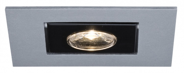 Premium EBL Cardano LED 1x(1x1W) 350mA Chrom matt/Alu