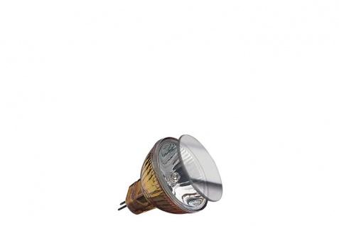 Paulmann Halogen Reflektor Akzent mit Schutzglas FTD flood 30° 20W GU4 12V 35mm Gold