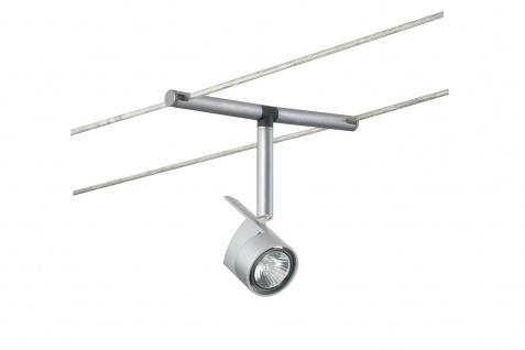Paulmann 971.62 Wire System Light&Easy Spot MiniPower 1x35W GU4 Chrom matt 12V Me