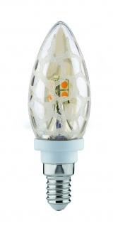 Paulmann 281.74 LED Kerze 2, 5W E14 230V Krokoeis Gold