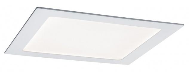 Paulmann Premium Einbauleuchte Set SmartPanel RGBW eckig LE 1x3, 5W 12VA 230V/350mA 220x220mm Weiß ma
