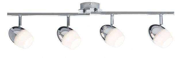 Paulmann Spotlight Egg LED 4x4, 2W Chrom 230V Meta