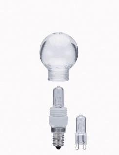 401.25 Paulmann Leuchtmittel Tropfen Mini Halogen 25W E14 Klar mit Ersatz LM