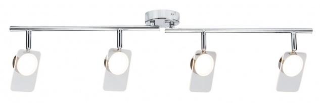 Paulmann Spotlight Window 4x5W Chrom/Klar 230V Metall/Acryl