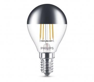 8718696750827 Philips LED Tropfen 4W E14 230V Kopfspiegel 2700K Leuchtmittel