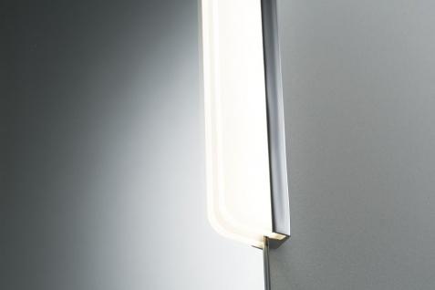 Paulmann WallCeiling Zeta Spiegelklemmleuchte IP44 LED 5, 5W 600mm Chrom/Weiss 8, 4VA 230/12V Metall/Acryl