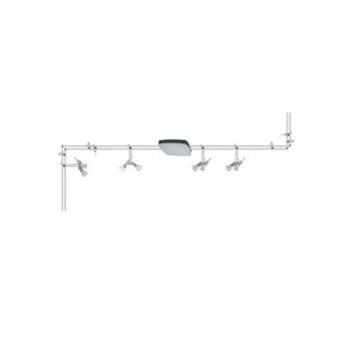 Paulmann 975.61 Rail System Ginger 4x(2x20W) 2x10W Chrom matt 240/12V 2x105VA