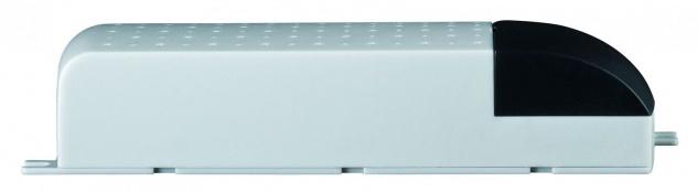 Paulmann VDE Mipro Elektroniktrafo 20-80W 230/12V 80VA Grau/Schwarz