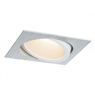 Premium EBL Helia eckig schwb LED 2700K 13W 1, 4A 115x115mm Alu geb ws matt Alu Acr Paulmann 998.80