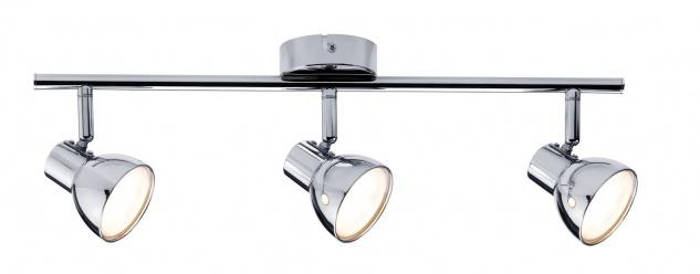 Paulmann Spotlight Cup LED 3x4, 6W Chrom 230V Kunststoff