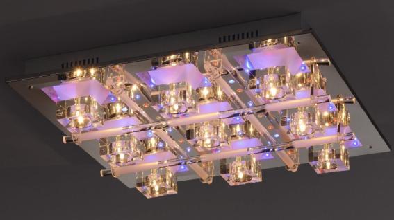 6417-17 Paul Neuhaus Deckenleuchte Halogen und LED RGB 12V inkl. Fernbedienung