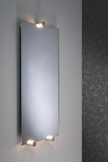 Paulmann WallCeiling Navi Spiegelleuchte IP44 LED 3x2, 4W Chrom/Weiß 16, 8VA 230/12V Alu/Acryl