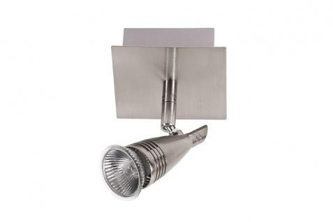 Nice Price Nice Price Spotlights D Rondell 1x50W GU10 Nickel satiniert 230V Metall