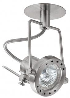 Paulmann 989.02 Quality Einbauleuchte Set Techno Spot 3x35W 105VA 230/12V GU5, 3 100mm Eisen gebürstet/Metall