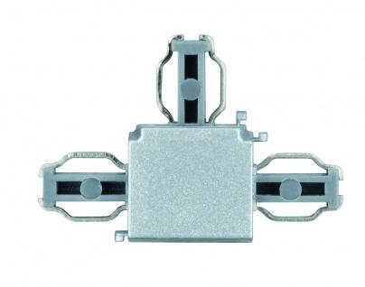 Paulmann ULine System L+E T-Verbinder Chrom matt Kunststoff