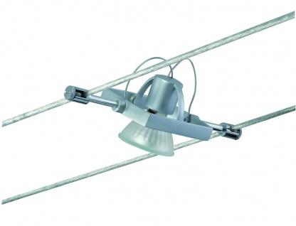 Paulmann Wire System Light&Easy Spot Mac II 1x35W GU5, 3 Chrom matt 12V Metall - Vorschau 3