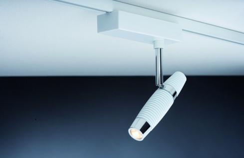 Paulmann URail Schienensystem Light&Easy Spot Channel 1x10W Weiß/Chrom 230V Metall
