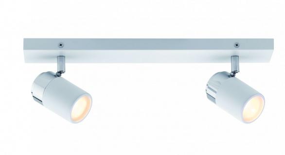Paulmann Spotlight Zyli IP44 Balken 2x3, 5W GU10 Weiß/Chrom 230V Metall